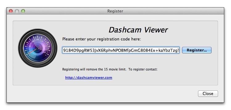 Resultado de imagen de Dashcam Viewer